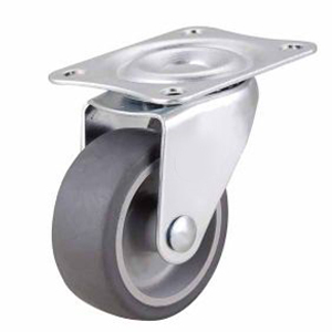 Light Duty Caster Swivel Thermoplastic Rubber Wheel